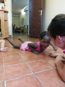 Naomi Crawling